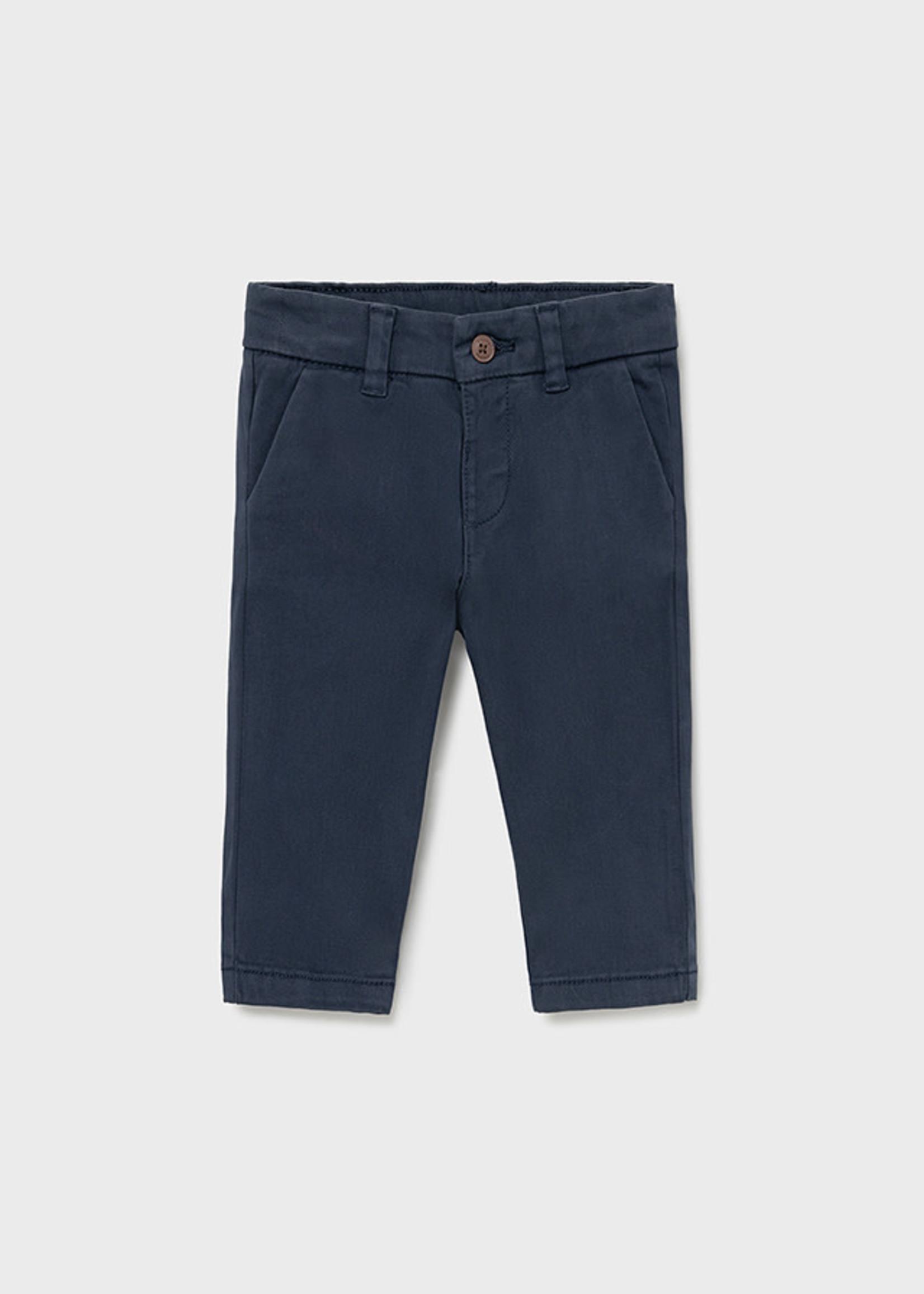 MAYORAL MAYORAL Broekje chino slim fit blue