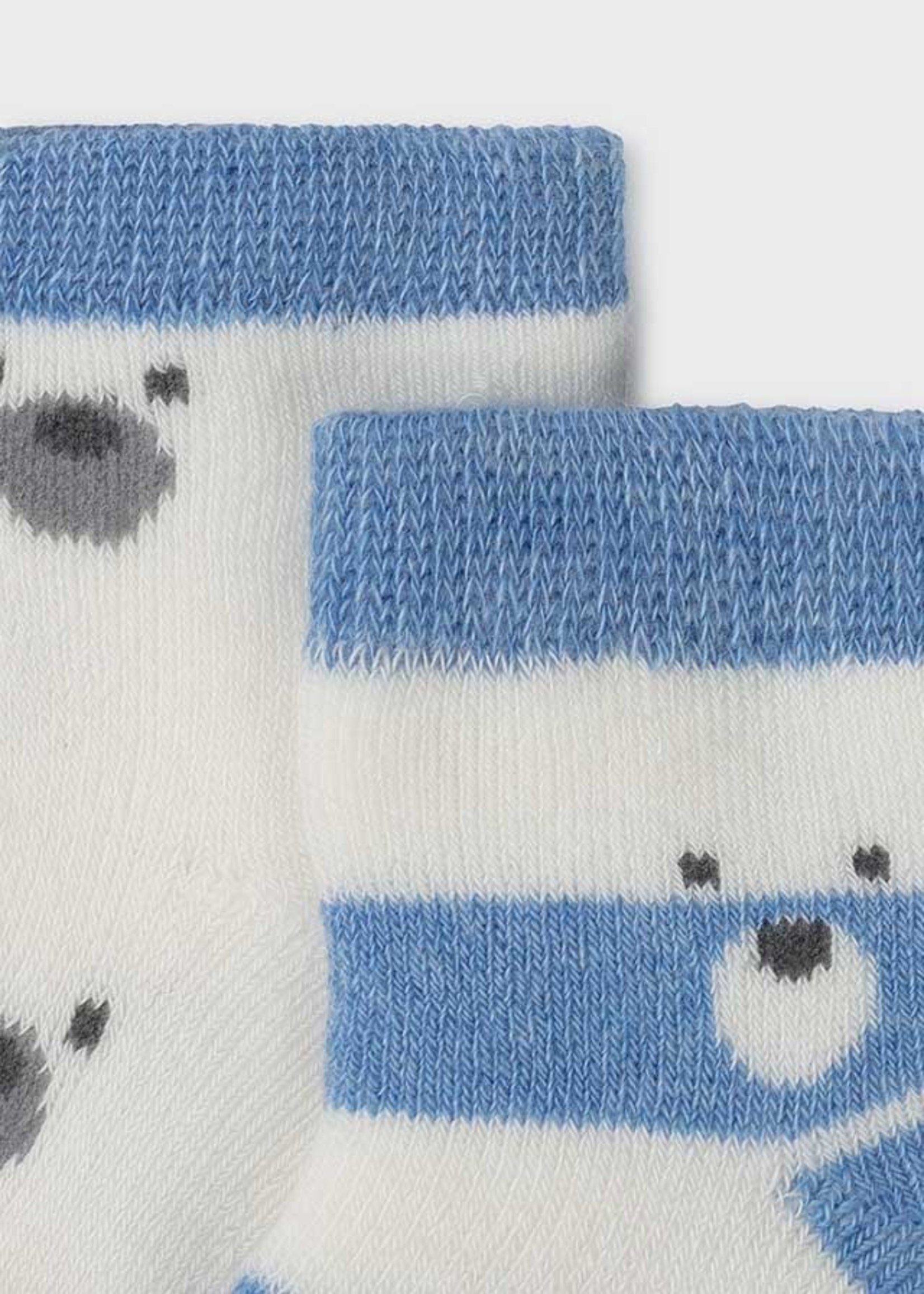 MAYORAL MAYORAL Sokjes 4 stuks blauw