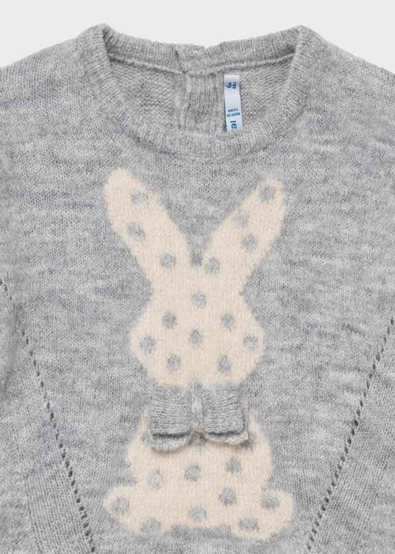 "MAYORAL MAYORAL Trui ""Bunny"" silver"