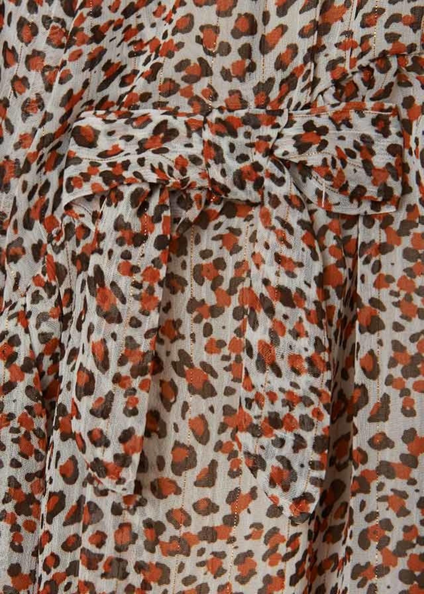 MAYORAL MAYORAL Jurk leopard print chiffon