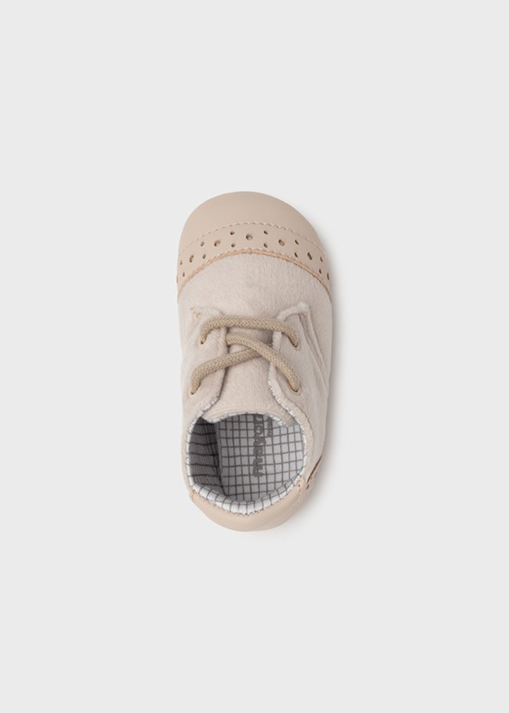 MAYORAL MAYORAL Schoentjes veters beige