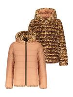 LIKE FLO LIKE FLO Jas reversible fur/old pink