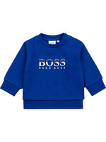 "HUGO BOSS HUGO BOSS Sweater ""Boss"" hoogblauw"