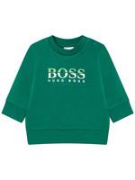 """HUGO BOSS HUGO BOSS Sweater """"Boss"""" groen"""