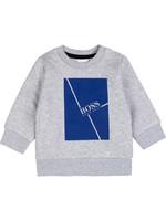 HUGO BOSS HUGO BOSS Sweater grijs/hoogblauw