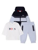 """HUGO BOSS HUGO BOSS 3 delige set """"Boss"""" lichtblauw"""