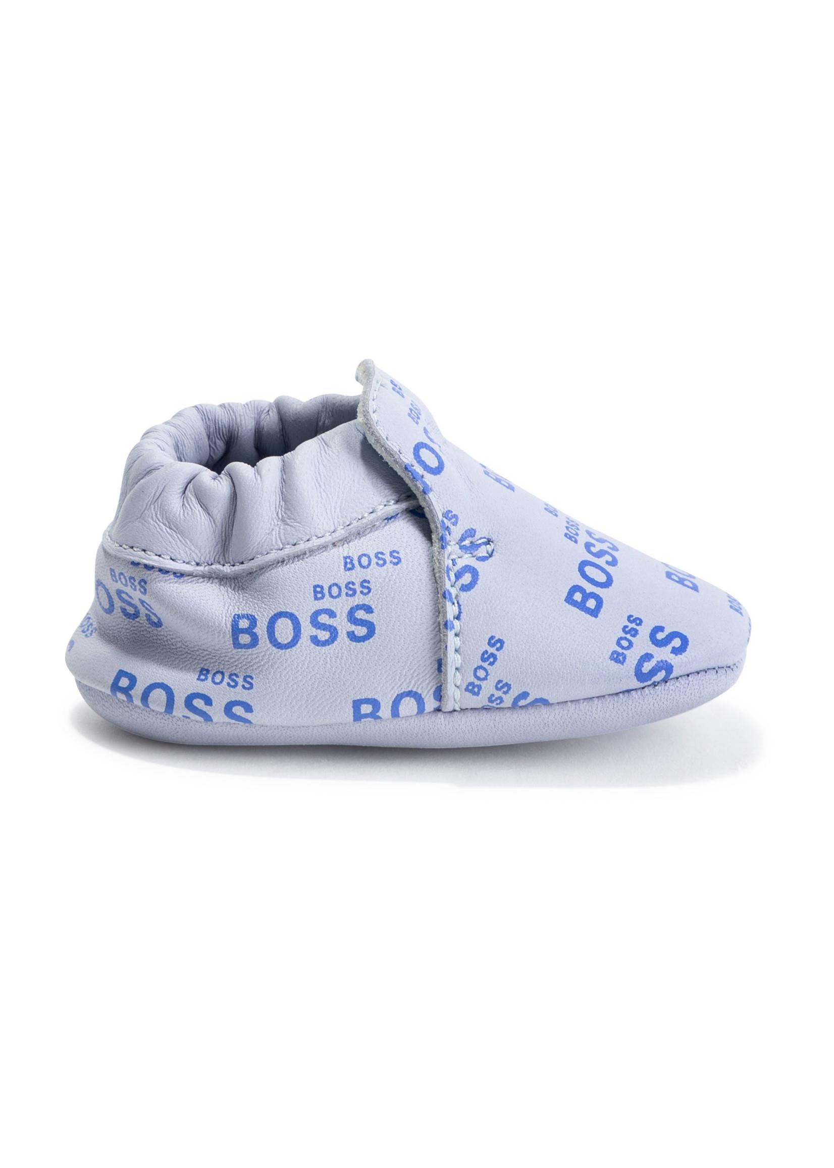 "HUGO BOSS HUGO BOSS Schoentjes ""Boss"" lichtblauw"
