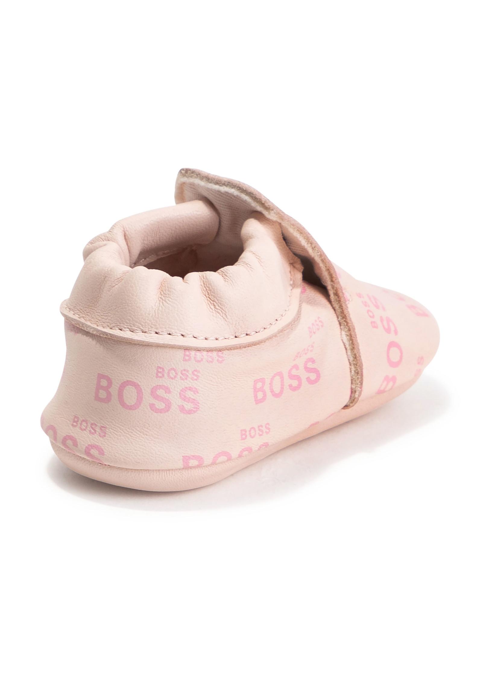 "HUGO BOSS HUGO BOSS Schoentjes ""Boss"" roze"