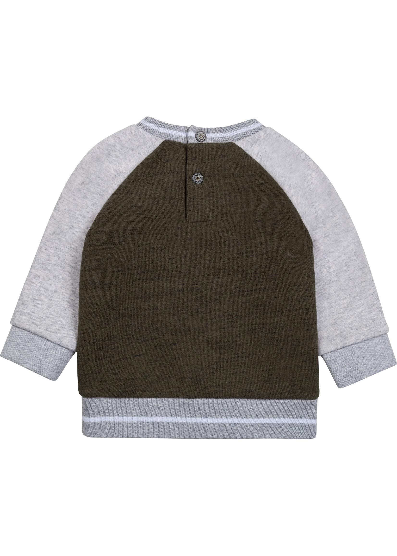 Timberland TIMBERLAND Sweater khaki/grijs
