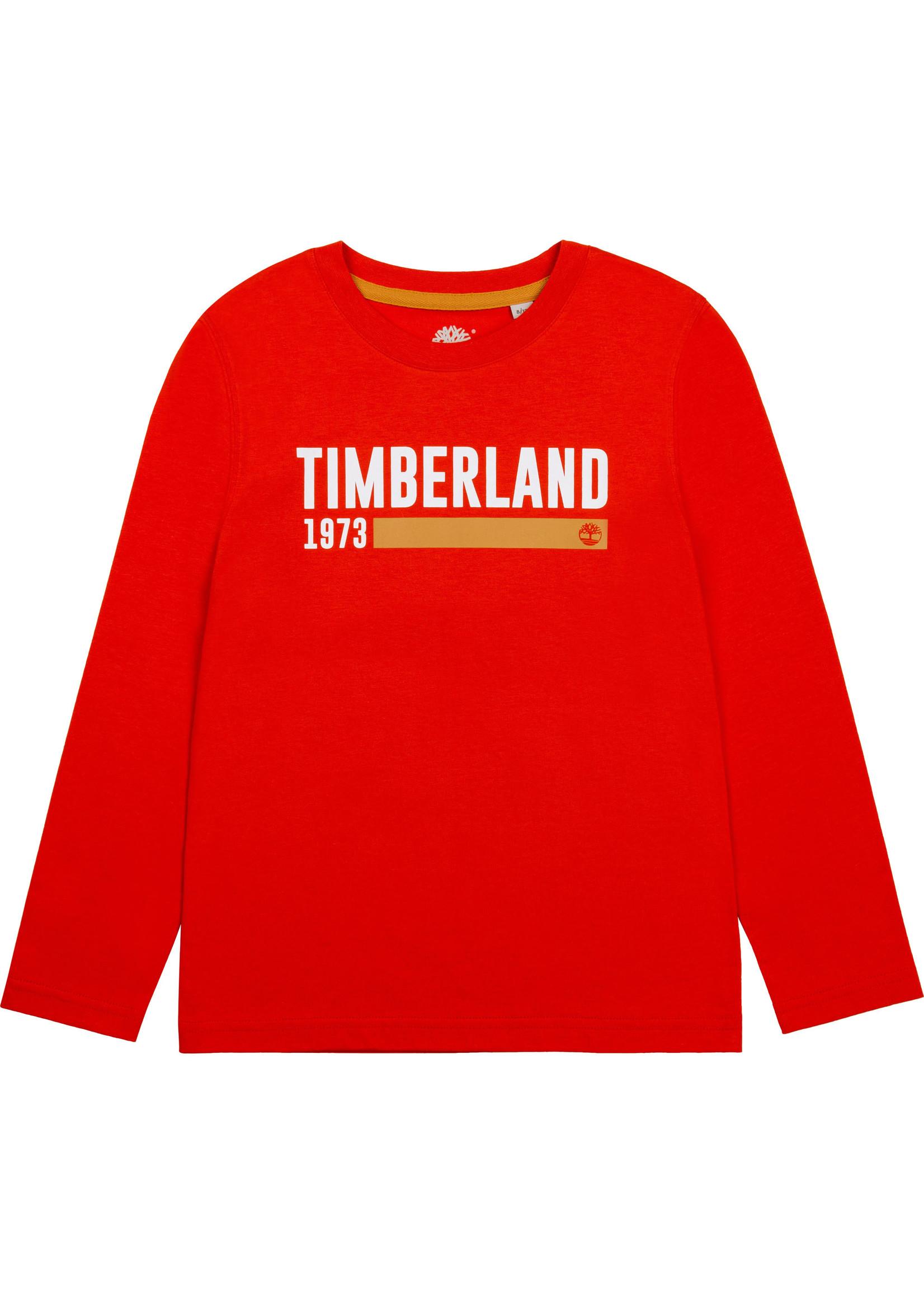Timberland TIMBERLAND Longsleeve basic chile red