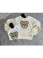 """FUN&FUN FUN&FUN Sweater """"Bear"""" beige"""