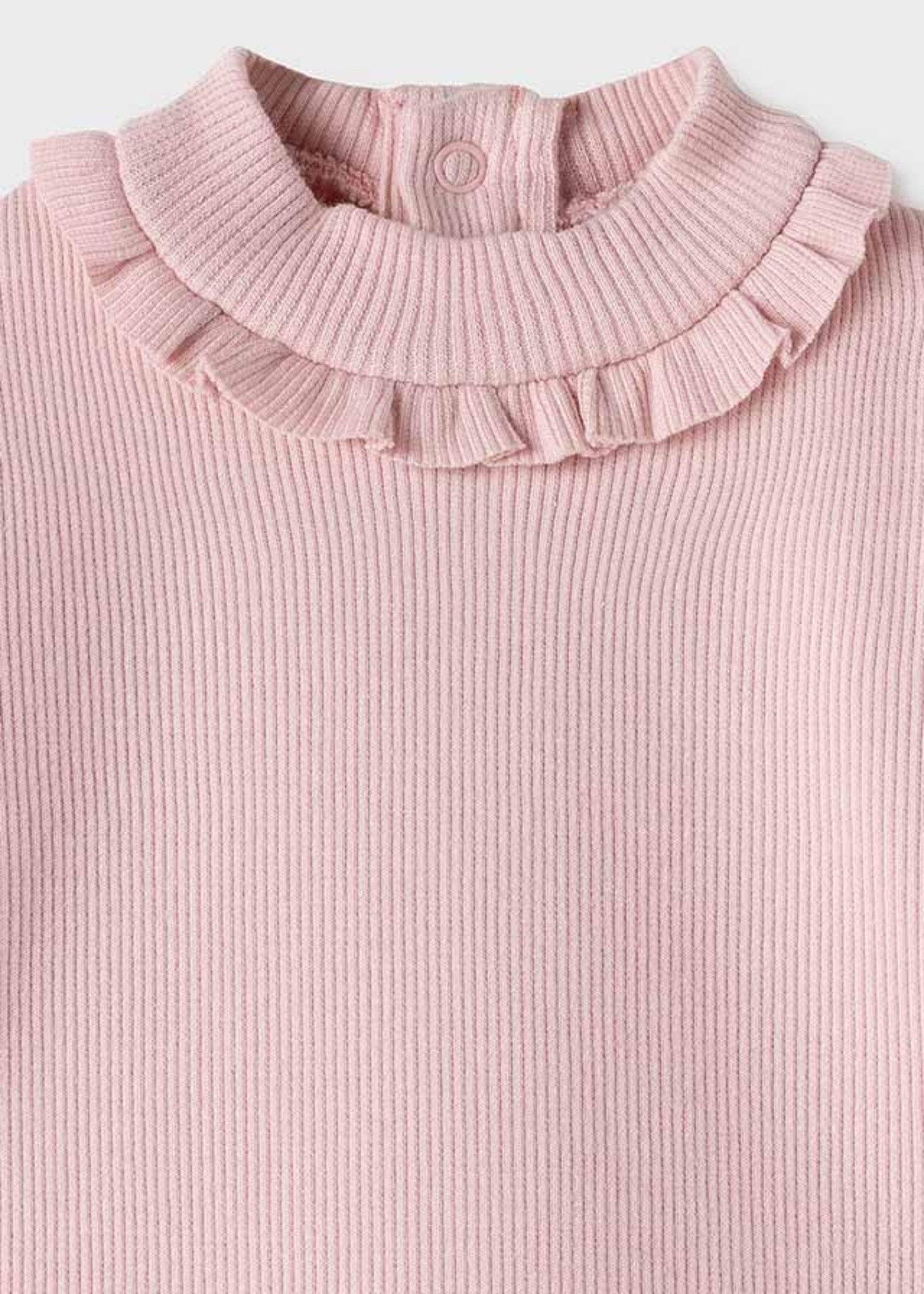 MAYORAL MAYORAL Sweater rib mockneck roze