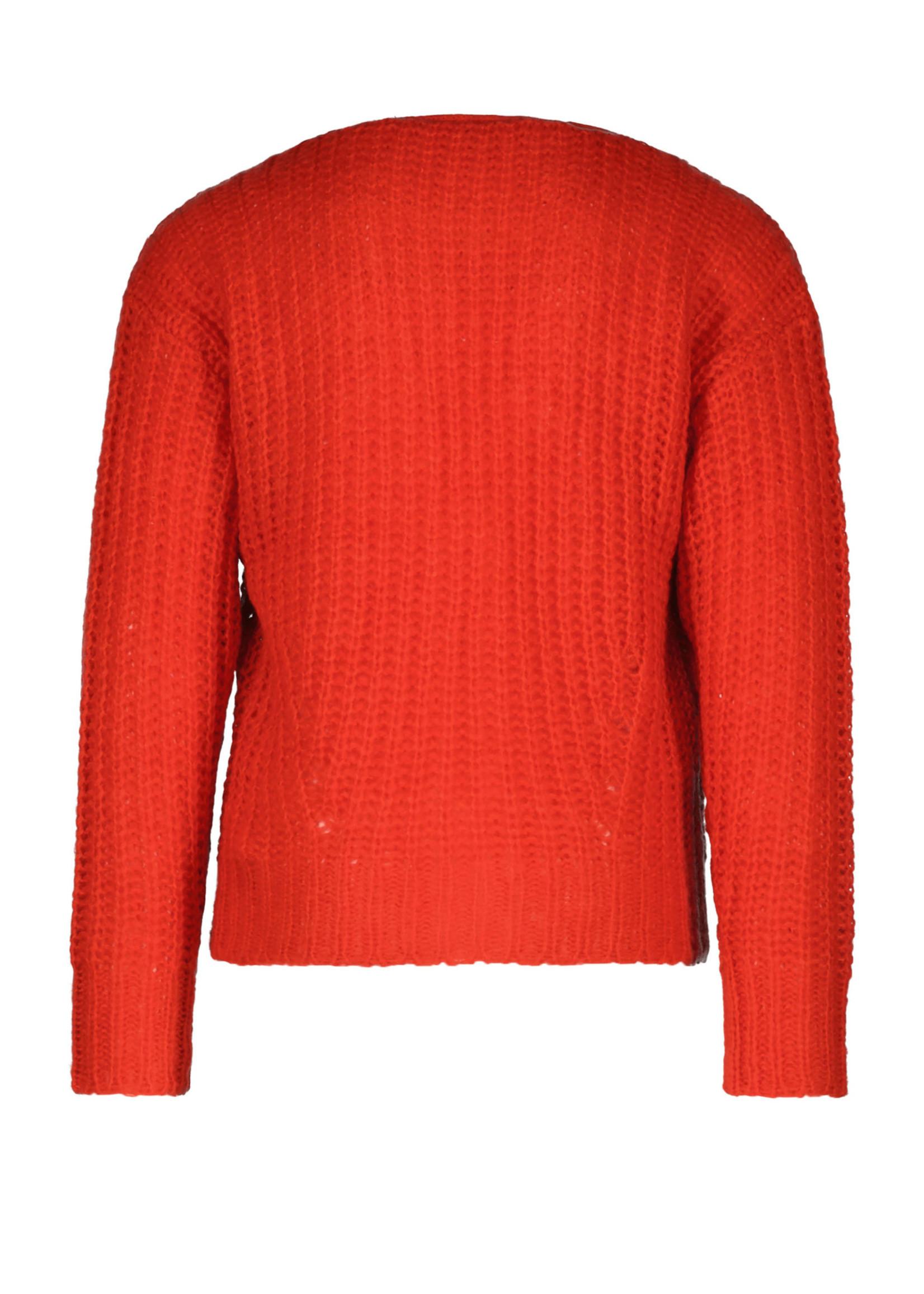 LIKE FLO LIKE FLO Cardigan knit chili