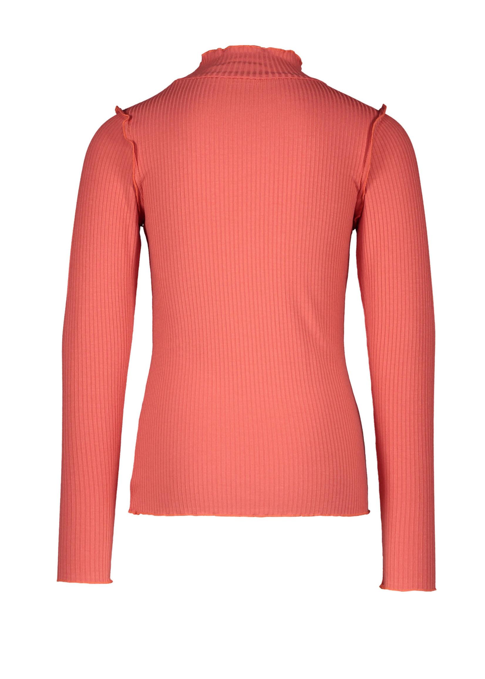 LIKE FLO LIKE FLO Sweater turtle neck coral