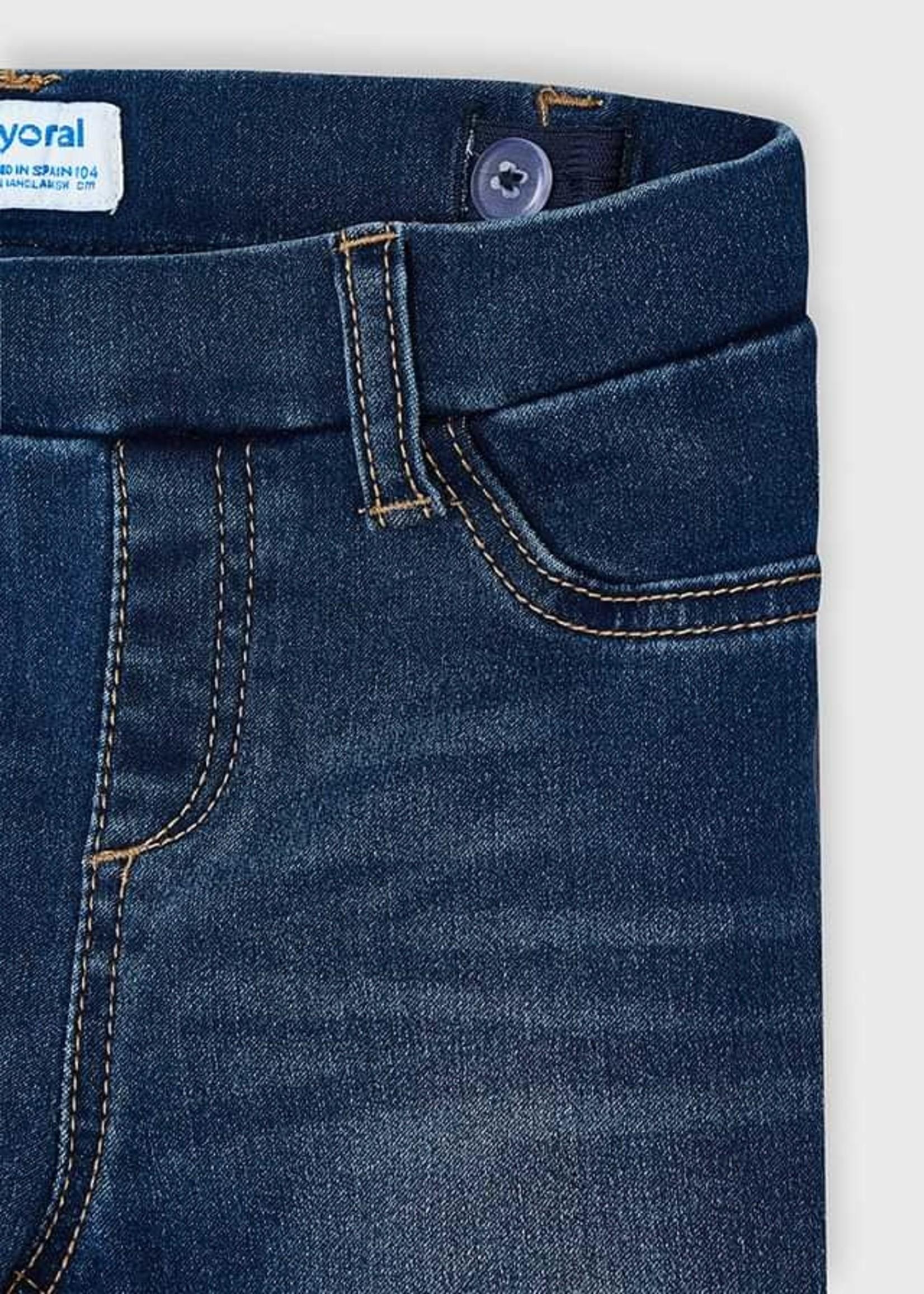 MAYORAL MAYORAL Jeans basic denim medium rekker