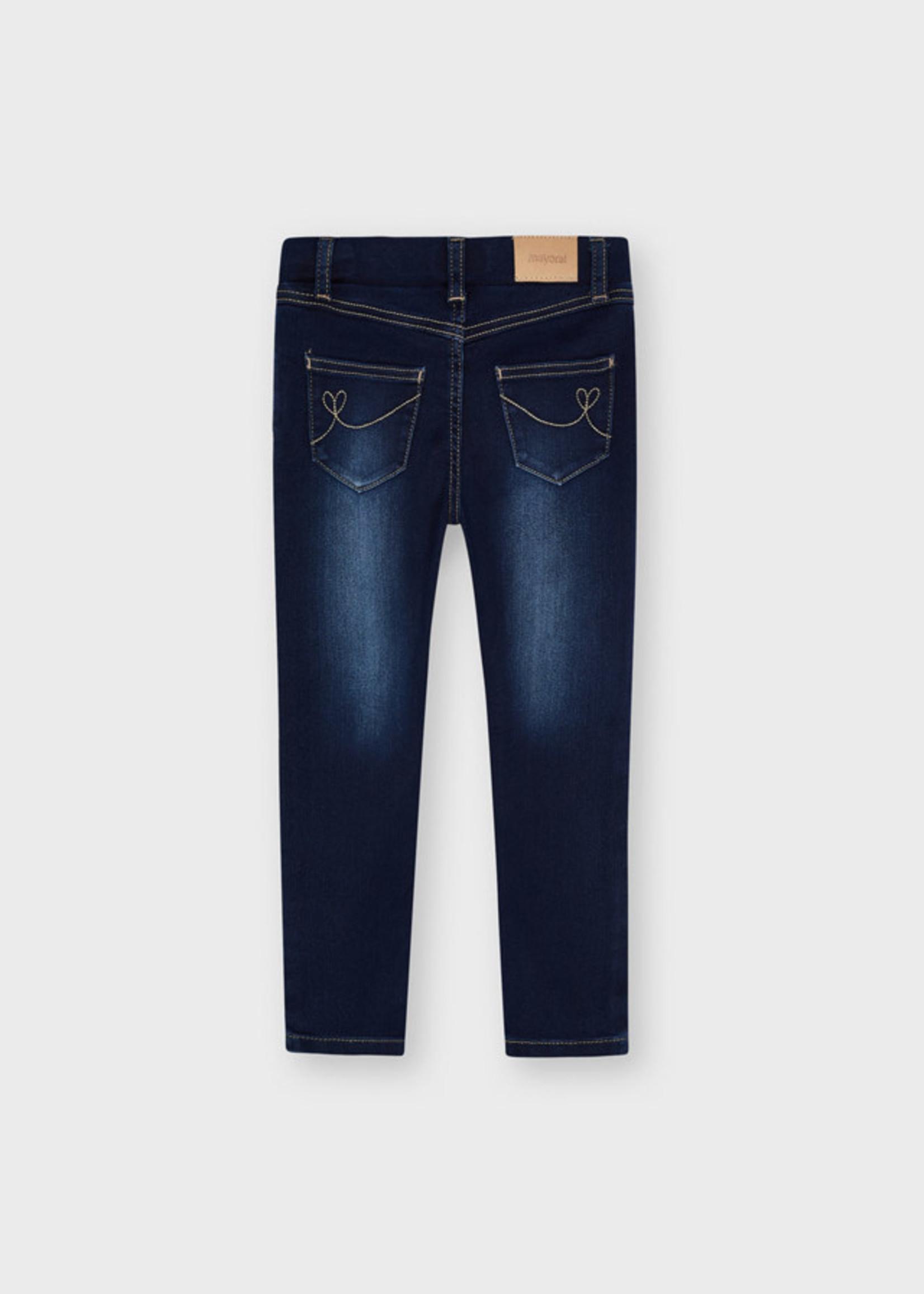 MAYORAL MAYORAL Jeans basic denim dark rekker