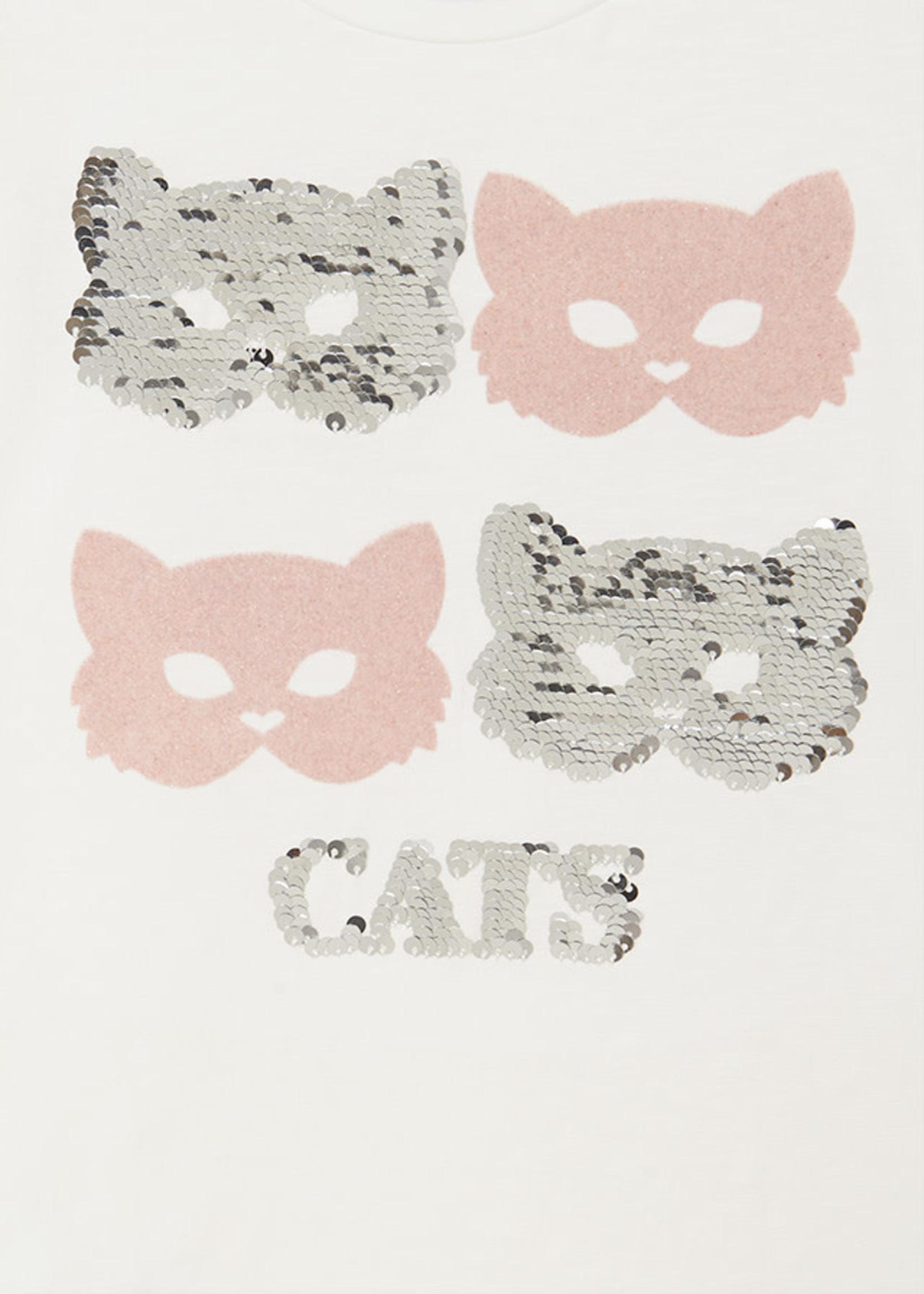 "MAYORAL MAYORAL Longsleeve ""Cats"""