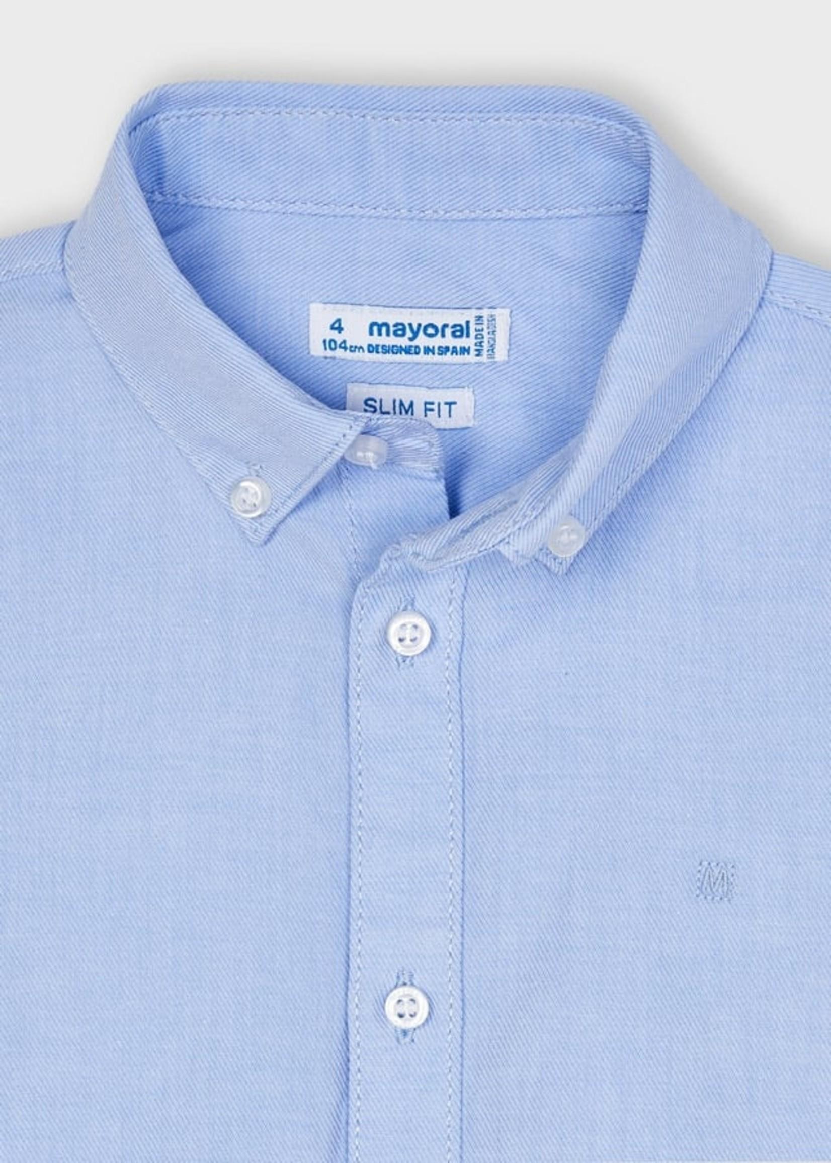 MAYORAL MAYORAL Hemd basic lichtblauw