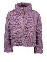 LIKE FLO LIKE FLO Cardigan fur teddy lilac