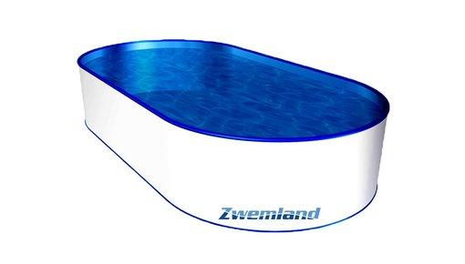 Zwembaden metalen wand