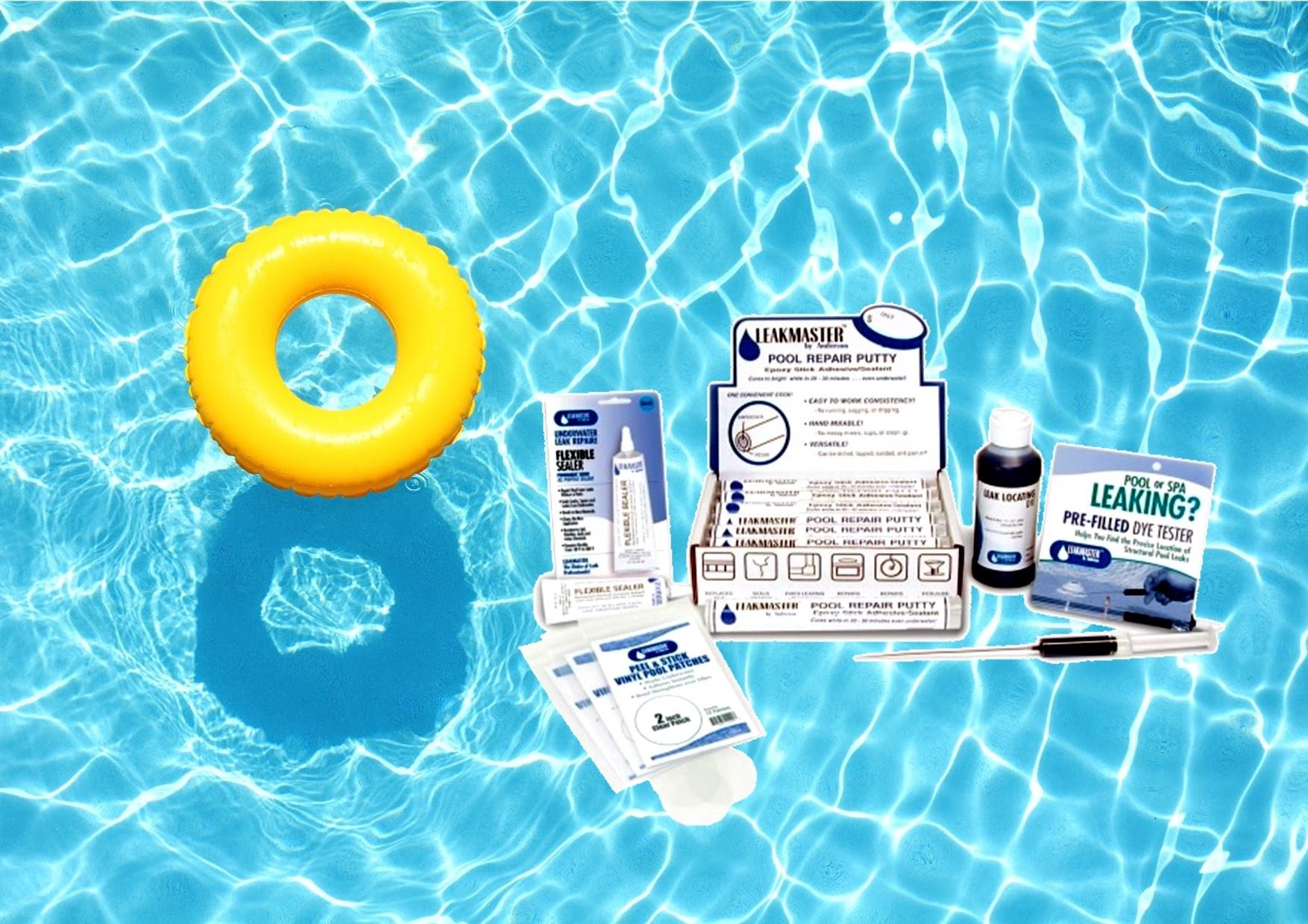 Zwembad reparatie en hulpmiddelen