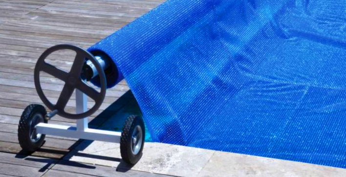 Opwikkelrollen voor zwembadafdekking
