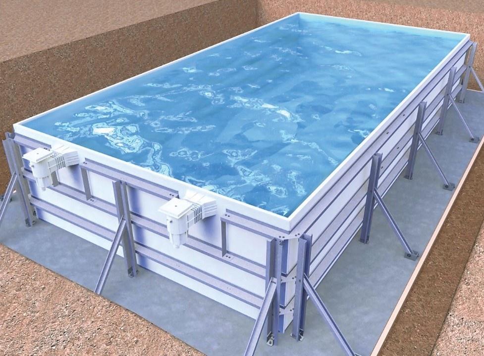 Infiniteau Zwembaden