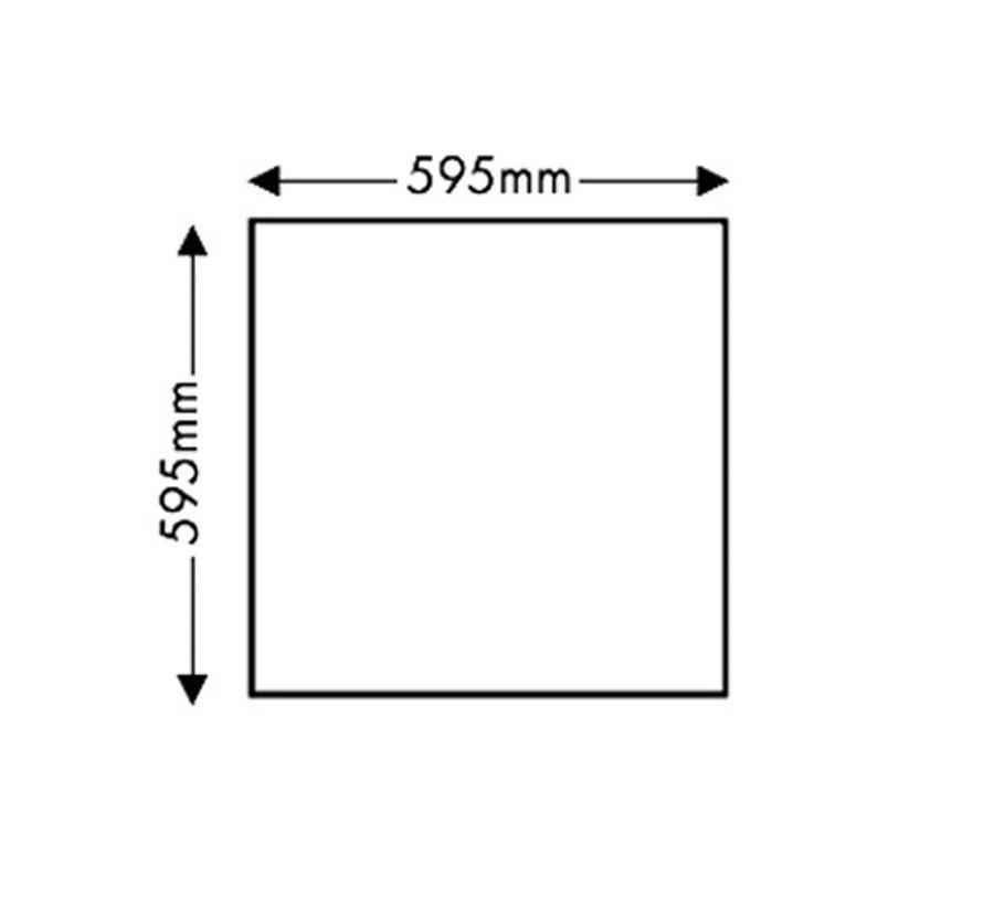 60 x 60 Led Paneel Pro 40W | 4200K Dag Licht Incl. Lifud Driver