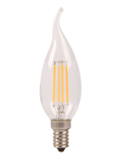 E14 | 4W Filament C35L | 6400K Koud Wit