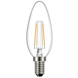 E14 | 4W Filament C35 | 2700K Warm Wit