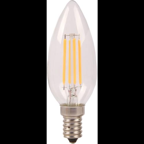 E14 | 4W Filament C35 | 6400K Koud Wit