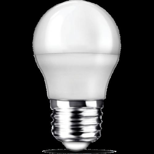 E27 | 5W Led Kogel Lamp G45| 6400K Koude Wit