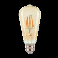 E27 | 6W Filament ST64 Mat | 2700K Warm Wit
