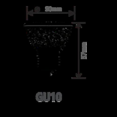 GU10 | 7W LED Spot Lamp | 6400K Koud Wit