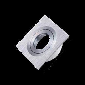 Spot Armatuur   Vierkant Aluminium