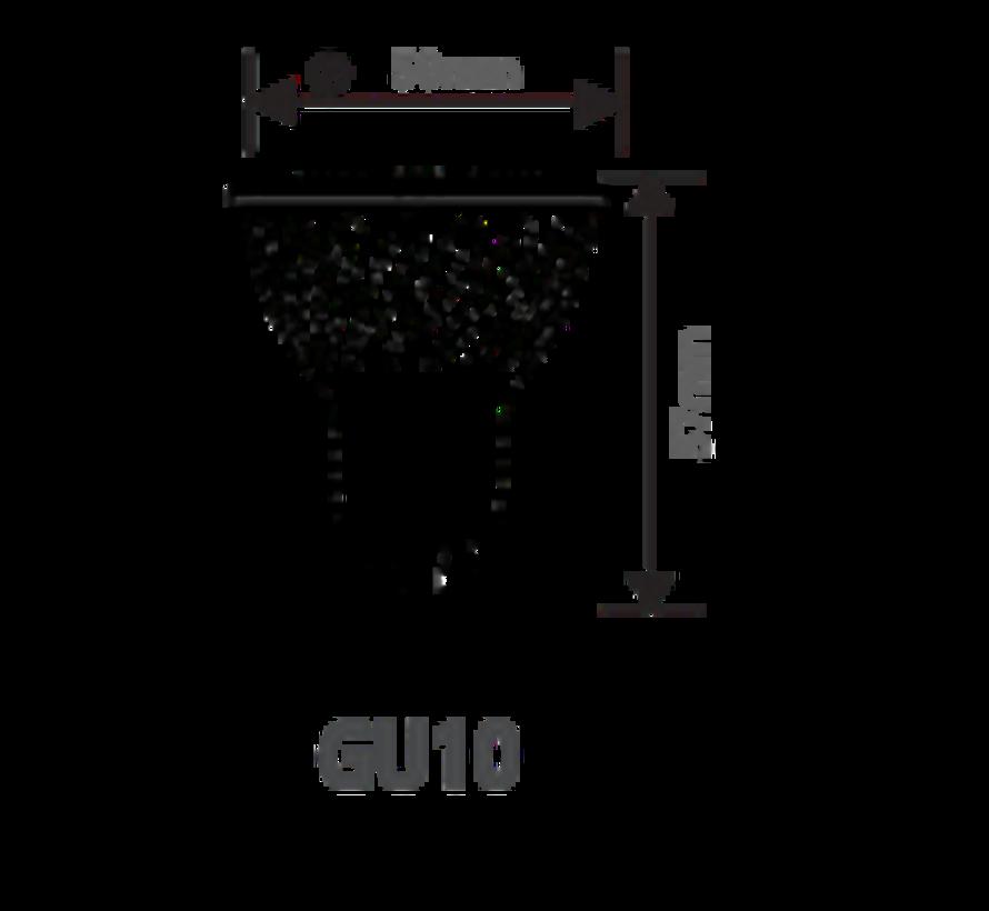 GU10   5W Dimbaar Led Spot Lamp   3000K Warm Wit
