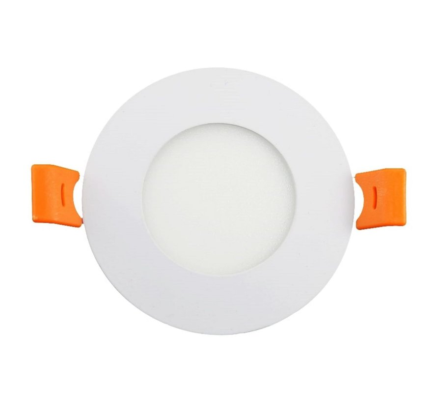3W LED Inbouw Spot | 3000K Warm Wit