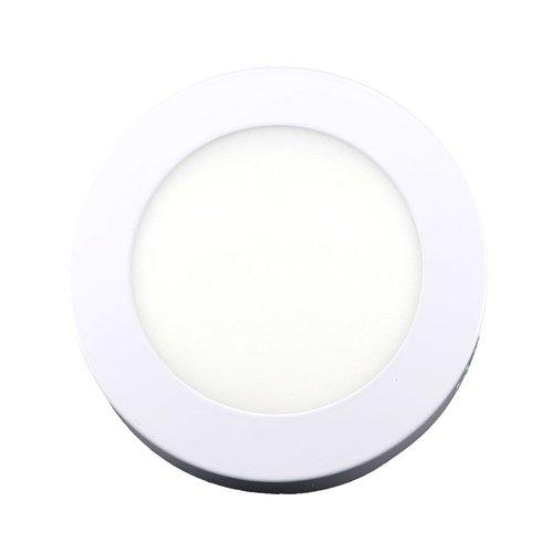 LED Downlight Opbouw Plafondlamp Rond | 6W | 6400K Koud Wit