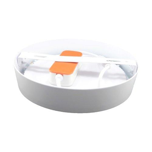 LED Downlight Opbouw Plafondlamp Rond | 12W | 3000K Warm Wit