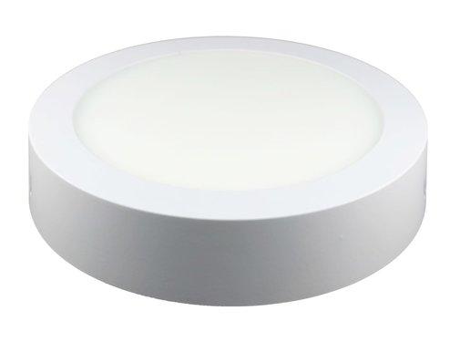 12W LED Rond Opbouw Spot | 6400K Koud Wit