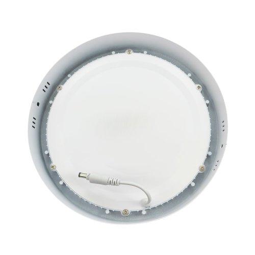 LED Downlight Opbouw Plafondlamp Rond | 18W | 6400K Koud Wit