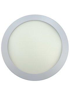 24W LED Rond Opbouw Spot | 3000K Warm Wit