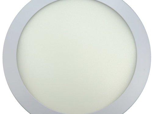 24W LED Rond Opbouw Spot   3000K Warm Wit