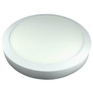 LED Downlight Opbouw Plafondlamp Rond | 24W | 3000K Warm Wit
