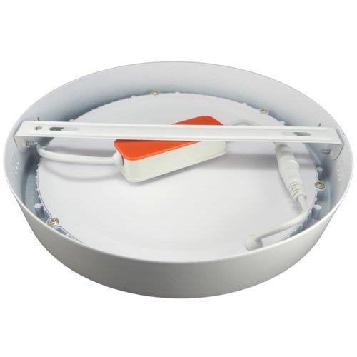24W LED Rond Opbouw Spot | 6400K Koud Wit