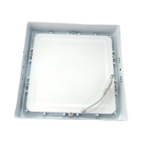 LED Downlight Opbouw Plafondlamp Vierkant | 18W | 6400K Koud Wit