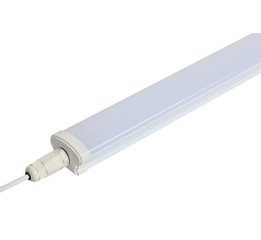 LED batten - Decoline -  120cm - Led Paneel - IP65 - Doorkoppelbaar - 4200K Koud Wit