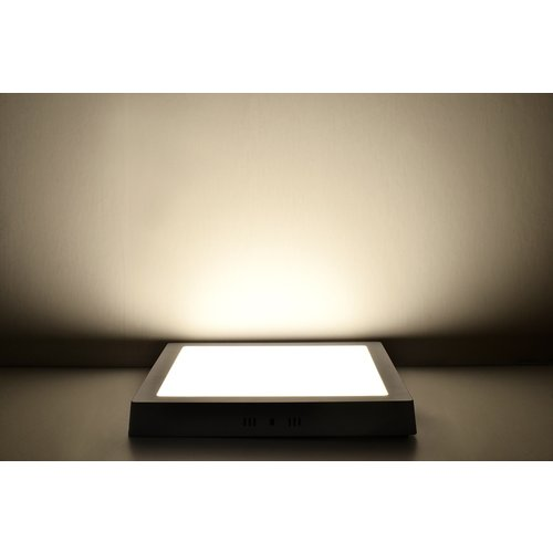 LED Downlight Opbouw Plafondlamp Vierkant | 24W | 6400K Koud Wit