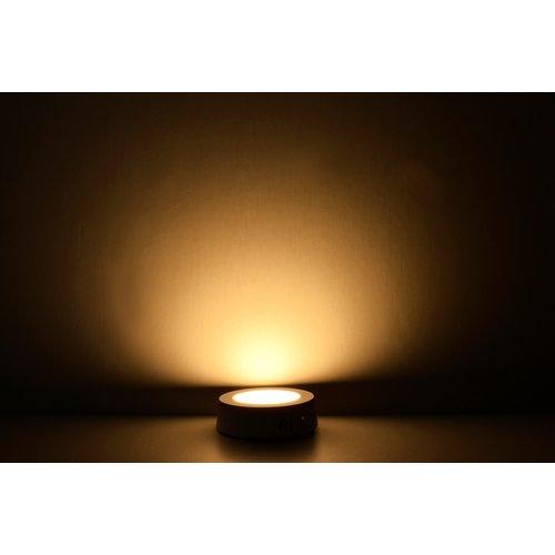 LED Downlight Opbouw Plafondlamp Rond | 24W | 3000K Warm Wit