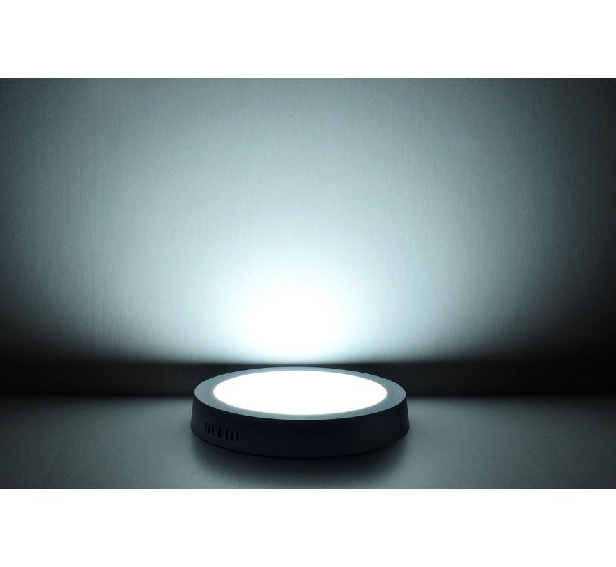 6W LED Rond Opbouw Spot | 6400K Koud Wit